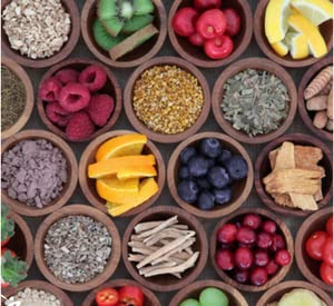 vitamina del complejo B y las vitaminas C, E y H