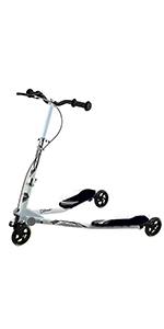 Yorbay Scooter Patinete de Tres Rueda Plegable Ajustable para niños