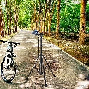 Ajuste de altura continuo para todo tipo de bicicletas que no pesen más de 30 kg, como: