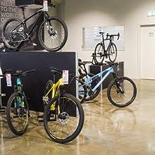 La tienda de bicicleta