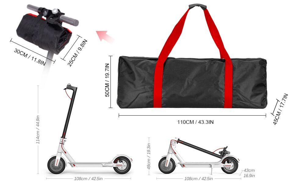 Lixa-da Portable Oxford Paño Scooter Bolsa Eléctrica ...