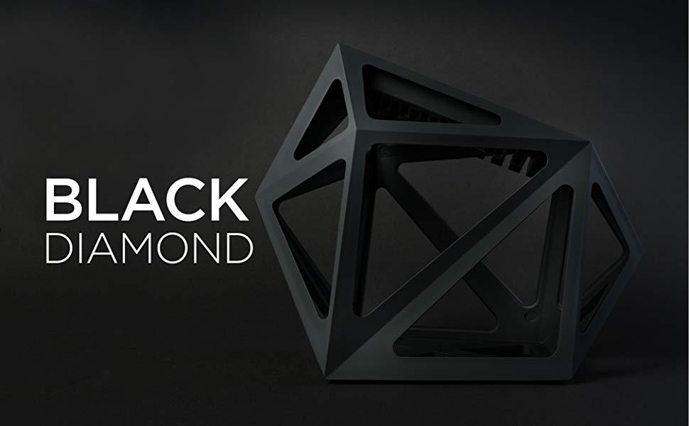 Edge of Belgravia Bloque Cuchillos de Cocina Black Diamond Negro in Plastico