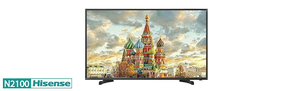 Hisense H43N2100 - TV: 284.35: Amazon.es: Electrónica