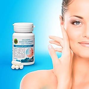 Colágeno +Ácido Hialurónico -Aquisana | Zinc y Vitamina C |Alérgenos: pescado-60 Cápsulas