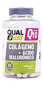 ... colageno q10 hidrolizado marino acido hialuronico qualnat mejor colageno del mercano comparativa, colageno con magnesio ...