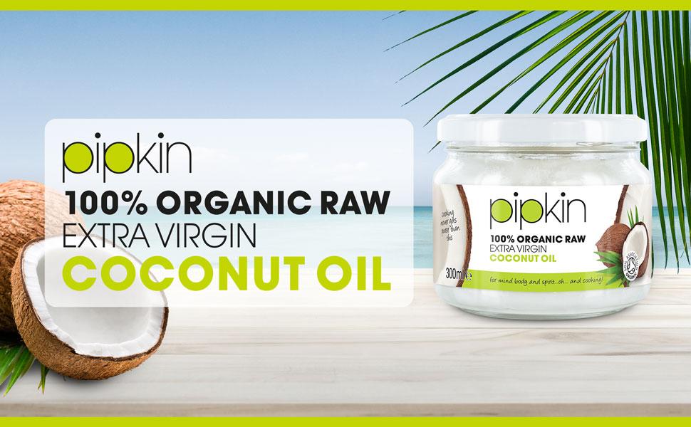 Pipkin Aceite de Coco Orgánico