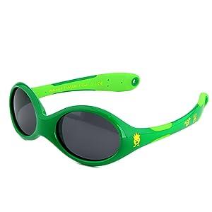 Sonnenbrille baby, jungen, uv-schutz, uva, uvb, polarisiert, gummo