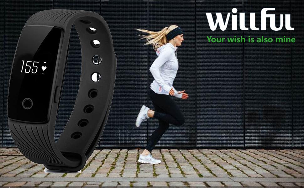 Willful Fitness Tracker Pulsera Inteligente Monitor de
