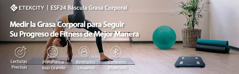 bascula grasa corporal bascula baño digital bluetooth balanza digital monitor composicion corporal