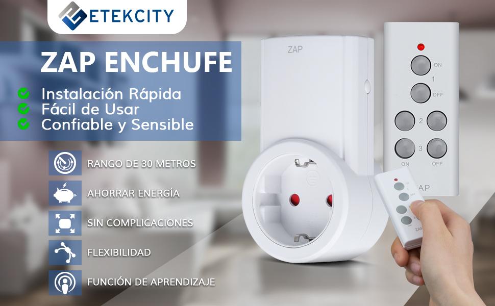 Etekcity Enchufes Inalámbricos Inteligentes con Mando a Distancia ...