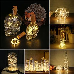 ... alta calidad y puede ser fácilmente diseñado para cualquier forma de bricolaje que le guste. Suelta la Cadena de 20 Pequeñas Luces dentro de una Botella ...