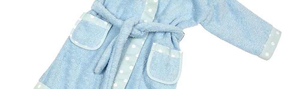 MI HIJA Y YO Capa de Baño para bebés de Piqué- Presentación Regalo.- Hecho A Mano (Desde 3 a 24 Meses)