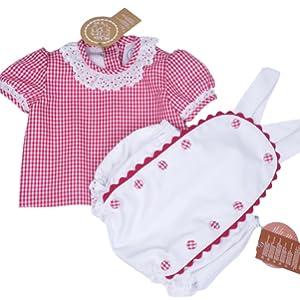 Conjunto bebé niña ranita camisa peto bebe ceremonia oferta medidas set bebe niño bautizo boda chic