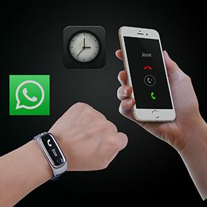 2 en 1 pulsera inteligente con diseño de auricular bluetooth ...