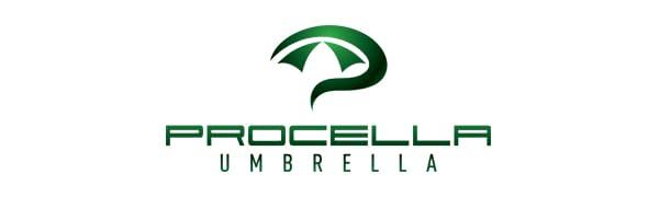 Procella Ombrello Grande XXL Da Golf Antivento N.1 Arco Superiore 157 cm Ripara 2-3 Persone Da Pioggia Vento Sole Professionale Leggero Resistente Non ...