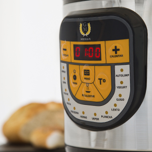 Arrocera multifunción GM Modelo Beta. Robot de cocina, olla programable 24h, Función arroz y 13 menús extra. 5 litros de capacidad y 900W de potencia.: Amazon.es: Hogar