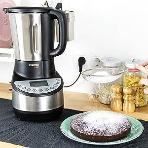 Cecotec Robot de Cocina Cecomix con capacidad de 3,3L, 21 ...