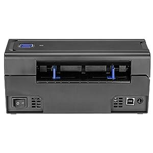 MUNBYN Impresora Etiqueta Térmica Directa de Velocidad Alta, Etiquetadora con Protección de Sobrecalentamiento, 4 x 6 Label Printer para Logística, ...