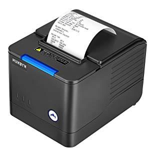 MUNBYN Impresora de Recibos de impresoras térmicas de Cocina ...