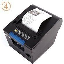 MUNBYN Impresora de Recibos Térmica 80mm Tickets Térmica Directa, Tiketera Portátil de la Caja Registradora con USB: Amazon.es: Electrónica