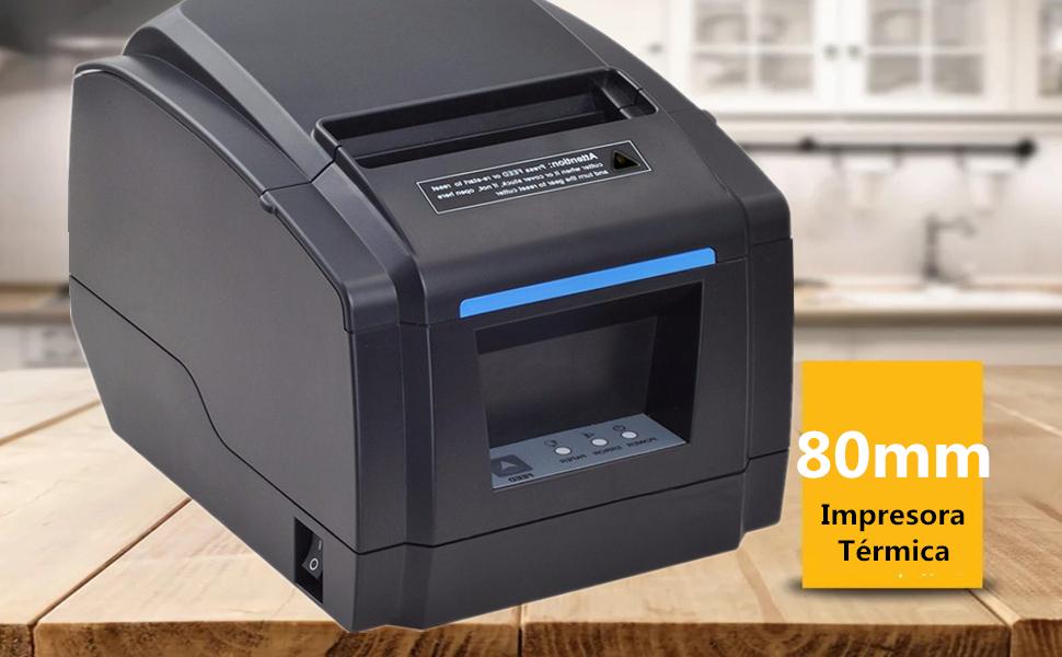Versión 2.0] MUNBYN Impresora de Etiquetas Térmica de de Cocina ...