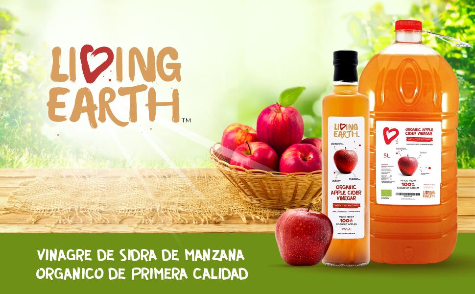 5 Litre - Vinagre de manzana orgánico