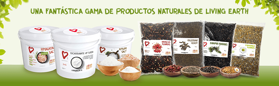 himalayan salt bucket, bicarbonate soda bucket, epsom salt bucket, 4 herbs packaging