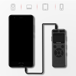 Victure Grabador de Voz Digital Portátil 8GB Compatible con ...