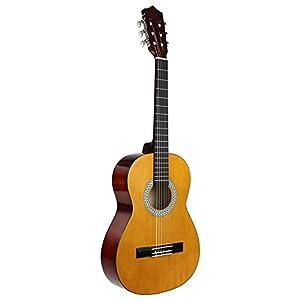 Strong Wind Guitarra clásica acústica 4/4 tamaño completo,con funda: Amazon.es: Instrumentos musicales