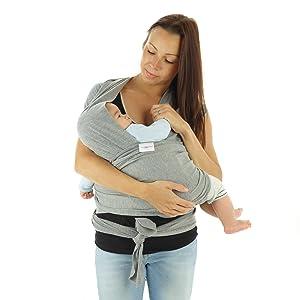 Fular Portabebés | Portador Honda para bebé | Transporte de bebé y ...