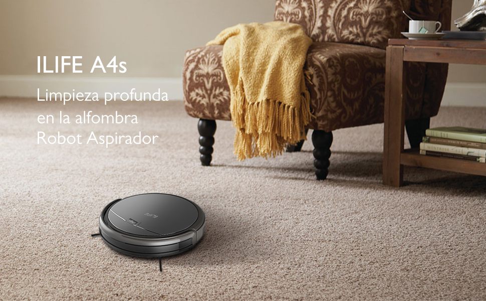 ZACO ILIFE A4s Aspirador, Robot de limpieza para suelos, Control ...