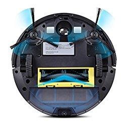 iLife A4s Aspirateur robot avec télécommande et charge automatique pour sols durs et moquettes - Home Robots