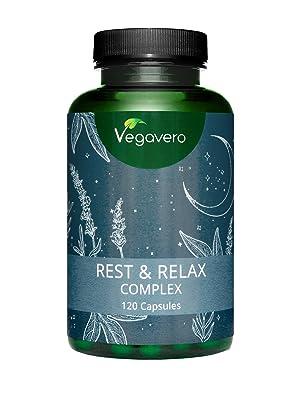 Melatonina Vegavero® | Con Valeriana + Pasiflora + Lavanda + Bacopa Monnieri | 120 Cápsulas | Ansiedad + Dormir + Insomnio + Estrés | Suplemento ...