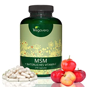 MSM + Vitamina C Natural