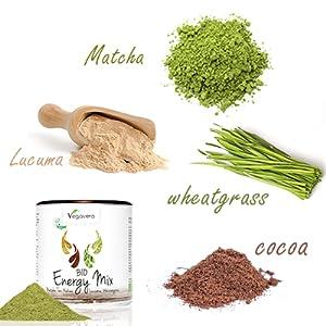 ¿Por qué tomar nuestro Energy Mix? Una excelente combinación de 4 de los mejores superalimentos: Té matcha: Originalmente ...