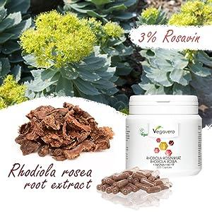 Alta dosis: cada una de nuestras cápsulas contiene 200 mg de extracto de raíz de rosa de Rhodiola y 3% de salidrosides. Para garantizar la calidad de ...