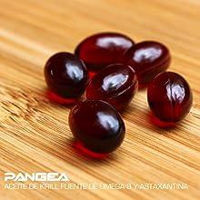 aceite de krill, astaxantina , omega 3