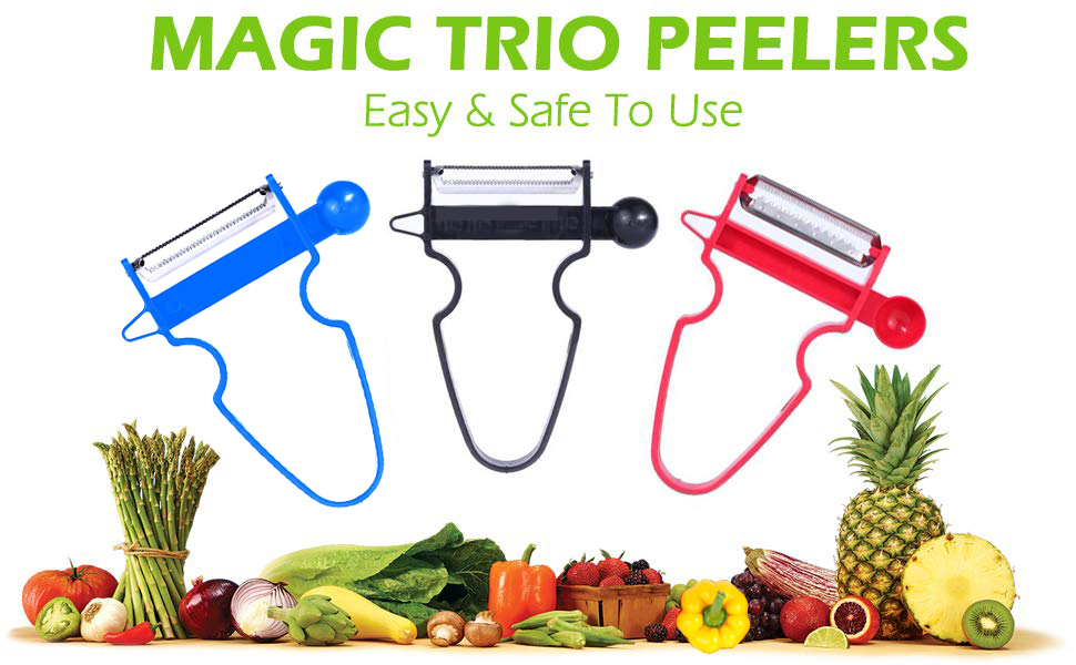 magic trio peelers