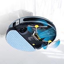 Clymen Q8 Aspiradora Robot 3 En 1 con Control De Voz, Aspiradora ...