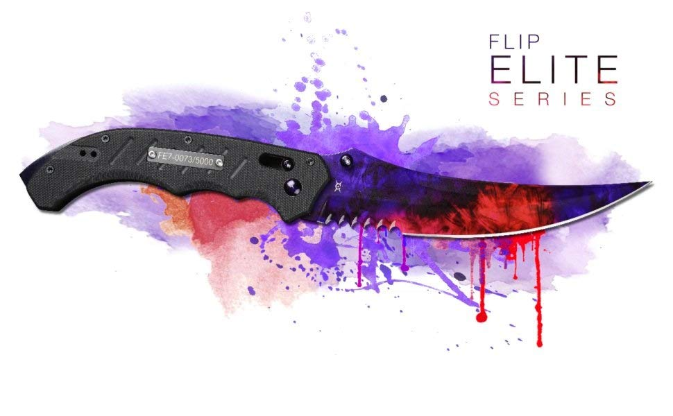 fadecase Flip Knife Elite - Factory New CSGO Skin Counter ...