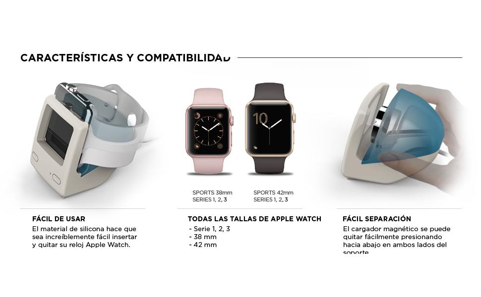 elago W3 Soporte para Apple Watch · elago Correa de Muñeca para AirPods · elago Correa para AirPods · elago AirPods Duo Funda de Silicona ...