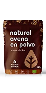 Harina de Avena Integral de Chocolate - Natural Athlete - 100 ...