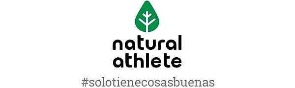 Proteína Vegana de Frambuesa y Fresa - Natural Athlete - 75% de proteína - 100% Natural - BIO - Sin Gluten - Sin Lactosa - Sin Azúcar añadido. 350g