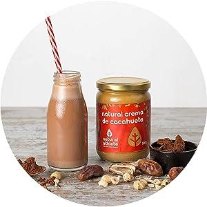 Crema de cacahuete: una forma sabrosa de llenarte de energía y nutrientes.