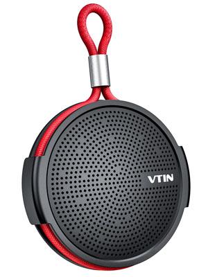 Vtin Q1 Altavoz Bluetooth , Altavoz impermeable de 8W, Altavoz portátil con Bluetooth 10H Tiempo de reproducción, Micrófono incorporado, Soporte de ...