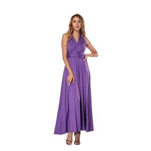 5f3c0f1bf2 Lover-Beauty Vestido Largo Mujer para Noche y Fiesta Casual Algodón ...