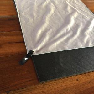 ¿Cansado de guardar toallas viejas y grandes que tardan horas en secarse?