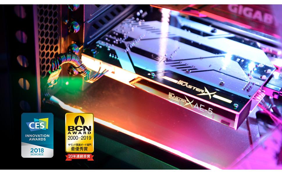 CREATIVE - Sound BlasterX Ae-5: Amazon.es: Electrónica