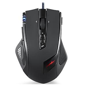Perixx MX-2000ll Ratón Laser Gaming - Avago 5600DPI ADNS-9500 ...