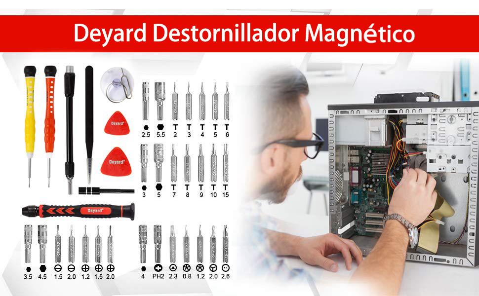 Deyard SG-455 - Juego de Destornilladores de precisión: Amazon.es ...